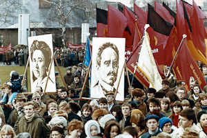 Karl Liebknecht and Rosa Luxemburg Demonstration