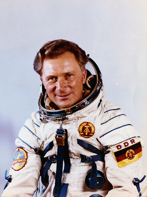 Siegmund Jähn - first german cosmonaut